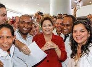 Dilma describe que estos médicos son sistemáticos, delicados en el trato con los pacientes.