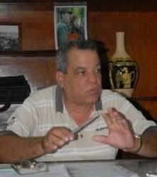 Domingo Gutiérrez Gutiérrez, secretario de la CTC en Sancti Spíritus.