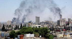 Ya han comenzado a salir los primeros civiles que se encontraban atrapados en los barrios de la ciudad antigua de Homs.