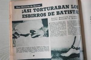Bohemía reflejó en sus páginas la prueba fehaciente de los crímenes cometidos por la dictadura batistiana.