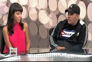 A fines de enero Laritza Bacallao hizo comparecencia en la televisión de Miami.