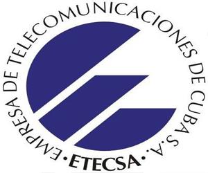 Empresa de Telecomunicaciones de Cuba (ETECSA).