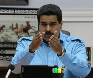 El presidente Nicolás Maduro convocó un diálogo por la paz de Venezuela.