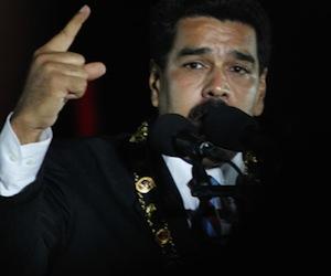 Maduro denunció la actuación violenta de grupos fascistas de la derecha.