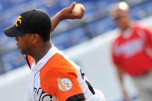 Vicyohandry Odelín ganó el único juego de la selección cubana en la Serie del Caribe.