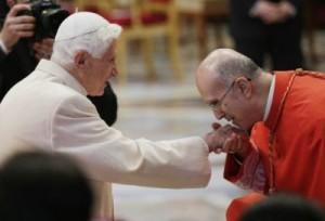 El próximo día 28 de febrero se cumple un año de la renuncia de Benedicto XVI al pontificado.