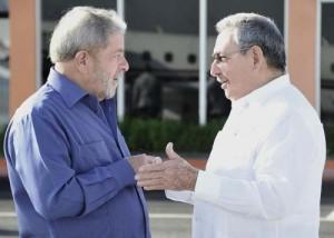 Lula cumplió una apretada agenda durante su estancia en Cuba.