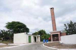 A inicios del 2014 se concluyó la construcción de un incinerador ecológico.