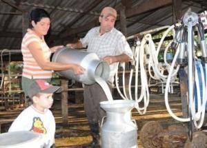Xiomara Rodríguez Román y Rolando Ortiz Martín llevan casi 14 años en la ganadería.