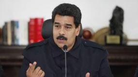 """""""Creo que salimos de esta reunión comprometidos hoy más que nunca con este esfuerzo de paz y la patria vencerá"""", aseguró Maduro."""