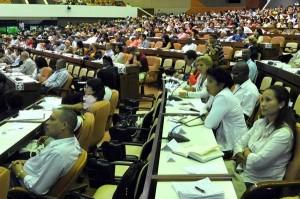 Primera Sesión Extraordinaria de la VIII Legislatura de la Asamblea Nacional del Poder Popular.