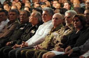 Díaz-Canel, Primer Vicepresidente de los Consejos de Estado y de Ministros, encabezó la ceremonia.