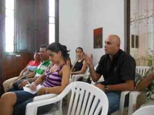 Juan A. Borrego expuso la experiencia digital del periódico Escambray.