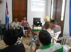 El evento permitió socializar saberes en el terreno digital.