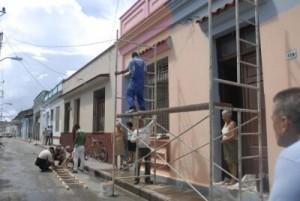En estos momentos se acomete un programa de conservación de fachadas en más de 1 190 viviendas.