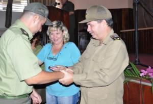 Varios oficiales fueron condecorados con la distinción Servicio Distinguido a los Órganos del Ministerio del Interior.
