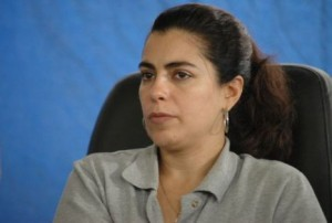 Adriana Pérez, esposa del antiterrorista cubano Gerardo Hernández.