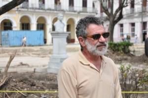 Roger Arrazcaeta Delgado, director del Gabinete de Arqueología de la Oficina del Historiador de la Ciudad de la Habana.