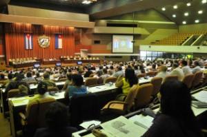 El Parlamento cubano se reunió este viernes en sesión plenaria.