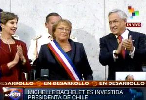 Bachelet aseguró que su administración comienza este mismo martes.