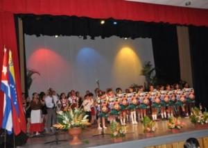 La velada artística-cultural contó con la actuación de artistas profesionales y aficionados.