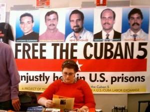 El ICAP promueve en todas las tribunas la lucha por la liberación de los Cinco.