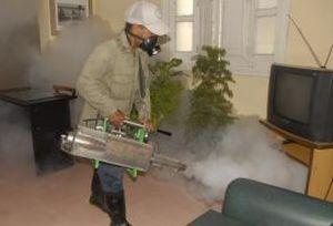 La fumigación deviene una de las medidas para combatir al Aedes.