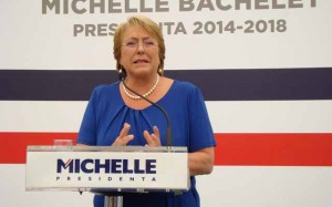 Michelle Bachelet asumirá este martes la presidencia de Chile.