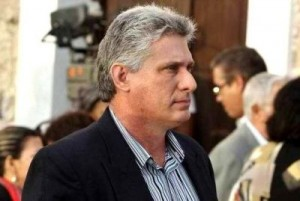 Miguel Díaz-Canel Bermúdez, primer vicepresidente de Cuba.