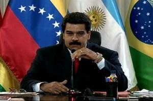 """Maduro informó que este grupo de generales """"tenían contacto con los sectores de más violentos de la oposición""""."""