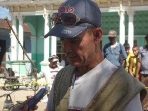 Orlando Álvarez de la Paz, especialista en Arqueología del Centro Provincial de Patrimonio y al frente del naciente Gabinete de Arqueología la Oficina del Conservador de la ciudad.