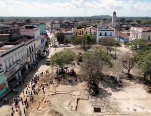 Vista actual del Parque Serafín Sánchez. (foto OHCH).