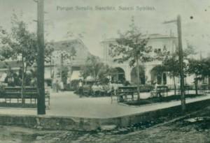 Vista antigua del arque Serafin Sánchez.