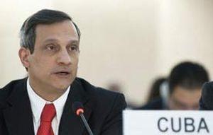 Rodolfo Reyes, representante permanente de Cuba ante Naciones Unidas.