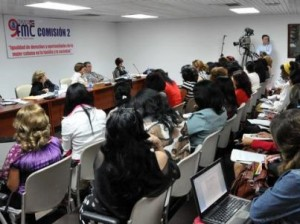 A este IX Congreso de la FMC asisten 373 delegadas y más de 120 invitadas.