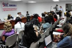 Sesiones de trabajo del primer día del Congreso de la FMC. (foto: AIN)