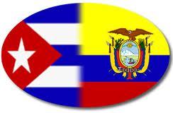 Cuba y Ecuador mantienen un amplio programa de cooperación bilateral.
