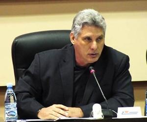 El primer vicepresidente cubano encabezó la delegación de la isla a la Cumbre de la Asociación de Estados del Caribe.