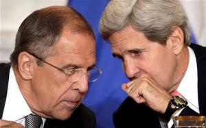 Kerry y Lavrov sostuvieron en Ginebra una primera ronda de conversaciones.