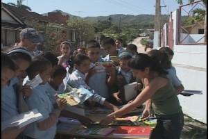La fiesta de la letra impresa continúa hoy en las montañas de la provincia de Sancti Spíritus.