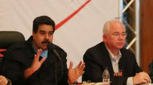 Maduro señaló que ese órgano será una instancia de conducción de este foro económico de paz