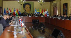 La primera jornada de diálogo se realizó el jueves pasado en el Palacio de Miraflores.