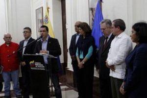 Arreaza refirió la aceptación de la oposición de sumarse al Plan de Pacificación presentado por el  Gobierno.