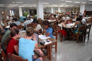 Cuba dispone de amplia red de bibliotecas.