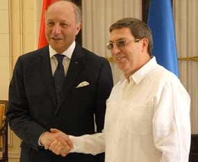 Ambos cancilleres resaltaron la importancia de la próxima negociación para un acuerdo de diálogo político y cooperación entre la Unión Europea (UE) y la isla.