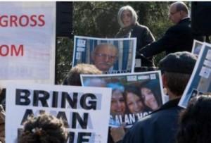 Judy Gross, la esposa de Alan Gross le pide a Obama que ayude a poner en libertad a su esposo.