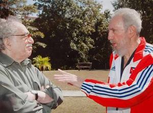 Fidel y García Márquez sostuvieron una estrecha amistad.