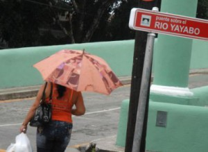 La Estación Meteorológica de Sancti Spíritus reportó un acumulado de  43.1 milímetros.