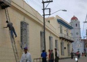 El Centro Histórico de la villa comienza a exhibir nuevos colores.