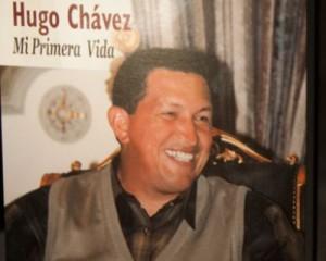 Portada del libro Hugo Chávez. Mi primera vida.